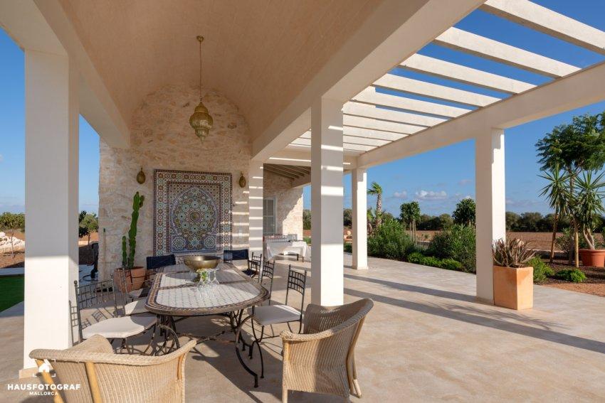 01 Mallorca Campos Villa Poolhouse Title